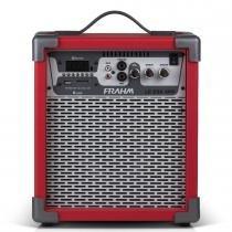 Caixa Amplificada LC250 APP 60W Vermelha 31265 - Frahm - Frahm