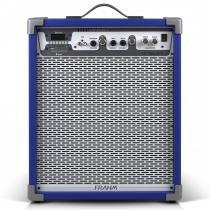 Caixa Amplificada LC450 APP 80W Azul 31338 - Frahm - Frahm