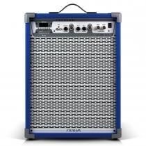 Caixa Amplificada LC650 APP 100W Azul 31340 - Frahm -