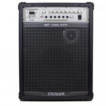 Caixa Amplificada MP1000 APP 150W Preta 31261 - Frahm -