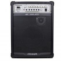 Caixa Amplificada MP1000 APP 150W Preta 31261 - Frahm - Frahm