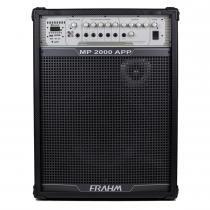 Caixa Amplificada MP2000 APP 200W Preta 31262 - Frahm -