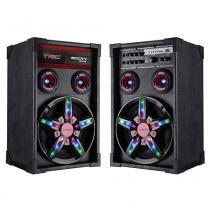 Caixa Amplificada TRC TRC362, Bluetooth, USB, Rádio FM, 300W - Bivolt -