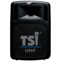 Caixa Ativa Portátil c/ Bateria, Bluetooth, USB e 2 Microfones CSM100-UHF - TSI - TSI