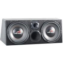 Caixa Automotiva Amplificada Box Trio 1500 500W 30947 - Hinor - Hinor
