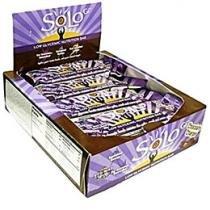Caixa Barra de Cereal Low Glycemic Bar Chocolate - 12 Unidades - Solo Gi