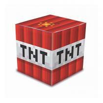 Caixa Bloquinho Minecraft 08 unidades Junco - festabox
