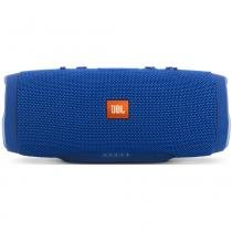 Caixa bluetooth jbl charge 3 wireless prova d agua -azul -