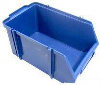 Caixa box 6 para organizador azul 14x18x30 com 12 undades - Siplás
