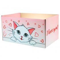 Caixa box cat in love - Pet star