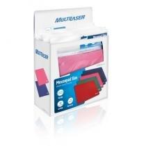 Caixa com 40 Mouse Pads Coloridos Multilaser - AC066 -