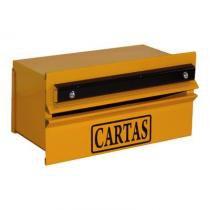 Caixa Correio Grade Popular Amarela - Comprenet