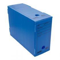 Caixa de arquivo morto oficio polidello dello azul 0326 c/25 unid. -