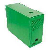 Caixa de arquivo morto oficio polidello dello verde 0326 -