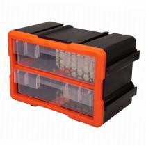 Caixa de Ferramentas Modular com 2 Gavetas - Diversos