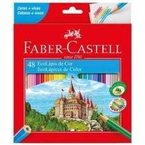 Caixa De Lápis De Cor 48 Cores Faber Castell Original -
