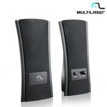 Caixa de Som 2.0 1W RMS Slim USB SP053 - Multilaser - Multilaser