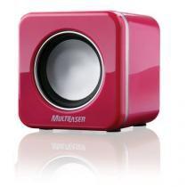 Caixa De Som 2.0 4w Rms Mini Pink Piano Usb Multilaser - SP103 - Multilaser