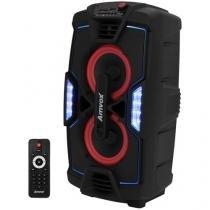 Caixa de Som Amplificada Amvox ACA 200 Turbo - Bluetooth Ativa 200W USB