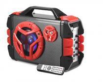 Caixa de Som Amplificada Multiuso 100w Multilaser sp250 com Bluetooth e Microfone -