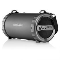 Caixa de som bazooka bluetooth/fm/sd/usb/p2 20w multilaser - sp233 -