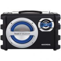 Caixa de Som Bluetooth Mondial - Multi Connect Thunder IV 40W RMS USB MP3