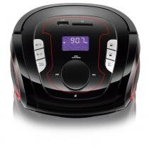 Caixa de som bluetooth mp3 boombox 5 em 1 sp186 multilaser -