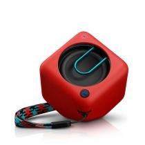 Caixa de Som Bluetooth Philips Vermelho, BT1300R/00 -