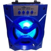Caixa De Som Bluetooth Portátil D-Bh1019 Com Rádio Fm Usb - MF Imports