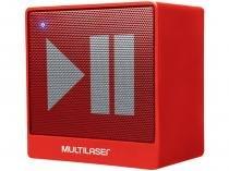 Caixa de Som bluetooth Portátil Multilaser - Mini Aux 8W