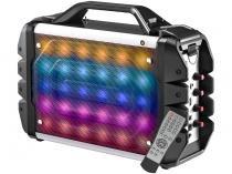 Caixa de Som Bluetooth Portátil Multilaser SP251 - 100W Ativa USB com Microfone e Entrada SD