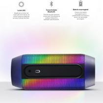 Caixa de som bluetooth pulse com leds - jbl -