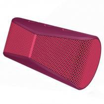 Caixa de Som Bluetooth X300 Rosa - Logitech - Logitech