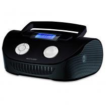 Caixa de Som Boombox 15W RMS USB/P2/FM/Cartao de Memória - Preta - SP182 - Neutro - Multilaser