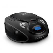 Caixa de Som Boombox 20W RMS CD/USB/SD/FM/Aux Preta - SP178 - Neutro - Multilaser