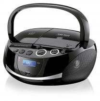 Caixa De Som Boombox 20w Rms Usb Sd Fm Cd Dock Station Multilaser  SP157 - Neutro - Multilaser
