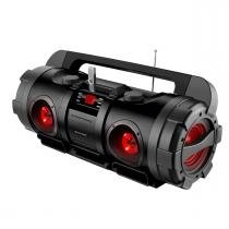 Caixa De Som Boombox Multiuso Bluetooth Usb 80W Rms Sp218 Multilaser -