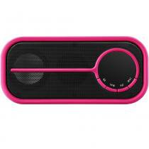 Caixa de Som C3 Tech Speaker Multilaser SP209 Preto/Rosa -