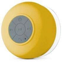 Caixa de Som Mini Speaker à Prova d água S/ Fio Bluetooth BTS-06 - Amarelo Speaker