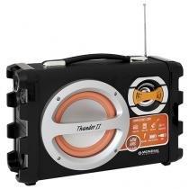 Caixa de Som Mondial Thunder II MCO-02 40W USB - com Microfone MP3 com Entrada SD Função karaokê