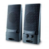 Caixa de Som Multilaser 2.0 Standard USB - SP050 - Preto - Multilaser