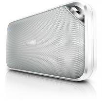 Caixa de Som Multimídia Bluetooth com Microfone Branca - PHILIPS BT3500W/00 -