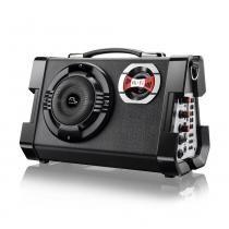 Caixa de Som Multiuso com Microfone 80W Bivolt SP191 - Multilaser - Multilaser