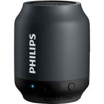 Caixa de Som Philips BT50BX com Bluetooth de 2W e Bateria Recarregável -