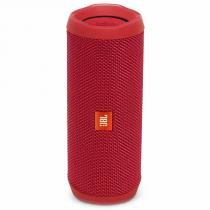 Caixa de som portátil bluetooth stereo speaker jbl flip 4 vermelho à prova dagua - Jbl