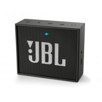 Caixa de Som Portátil JBL Go Preta -