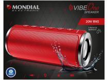 Caixa de Som Portátil Mondial Vibe One Speaker  - 20W MP3 com Entrada SD