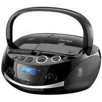 Caixa de Som Portátil Multilaser Boombox - Dock Station 20W USB MP3 RMS SD FM CD