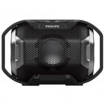 Caixa de Som Portátil Philips SB300B/00, prova dágua, 4W, Bluetooth - Preto -