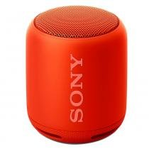 Caixa de Som Sony Speaker SRS-XB10 Vermelho, Bluetooth, Wireless, NFC, 10W RMS, Extra Bass, Resistente a Água -